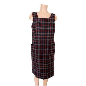 Harve Bernard Vintage Wool Jumper Dress Size 10